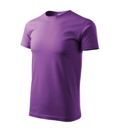 Tričko pánské Basic fialová 4XL