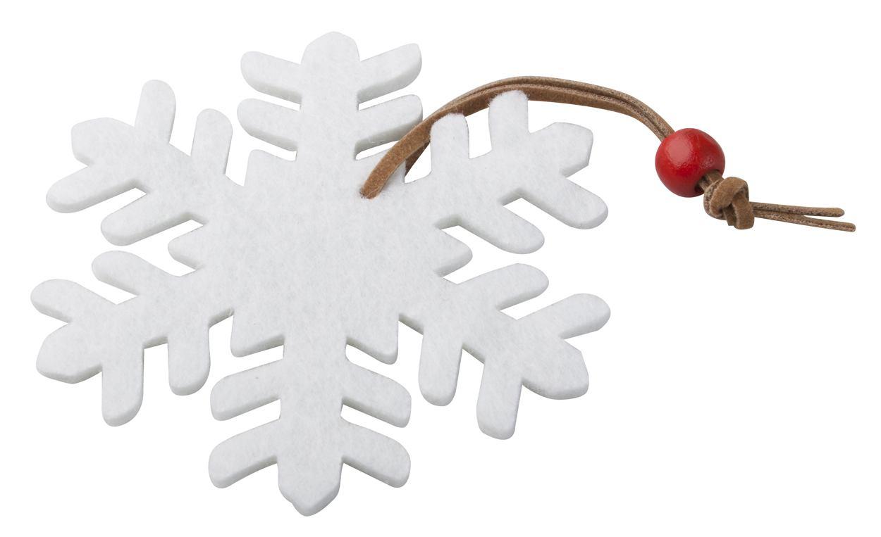 Fantasy vánoční figurka, sněhová vločka