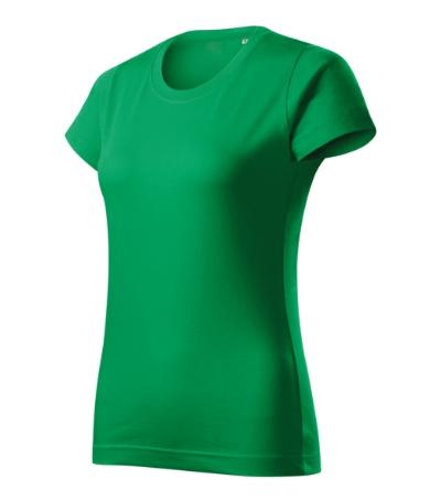 Basic Free tričko dámské středně zelená 2XL